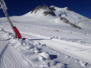 Stage compétition de ski à Tignes, stage de ski avec le club